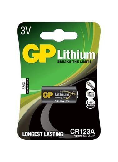 GP Gp Cr123A 3V Lityum Fotoğraf Makinası Pili Tekli Kart V123, 17345 Renksiz